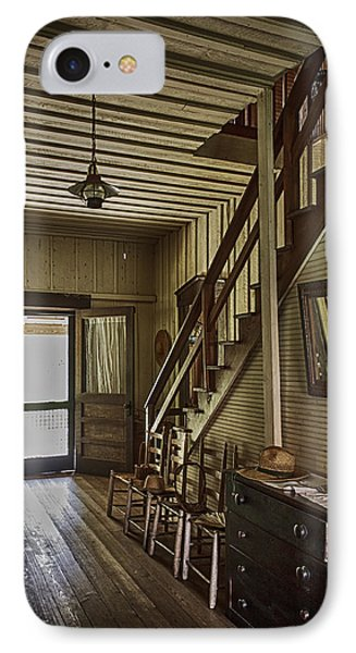 Farmhouse Entry Hall And Stairs Phone Case by Lynn Palmer