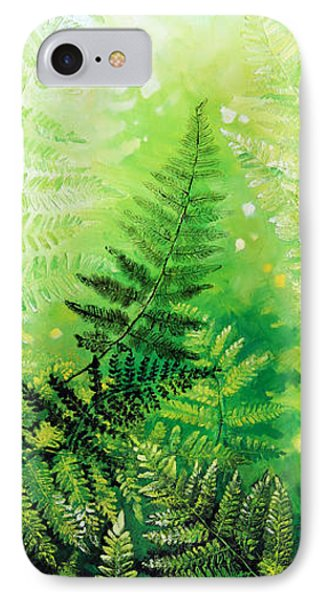 Ferns 4 Phone Case by Hanne Lore Koehler