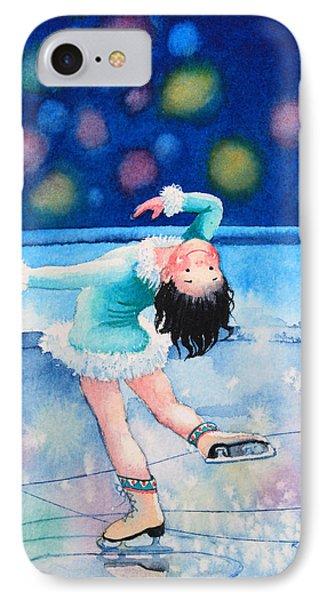 Figure Skater 16 Phone Case by Hanne Lore Koehler