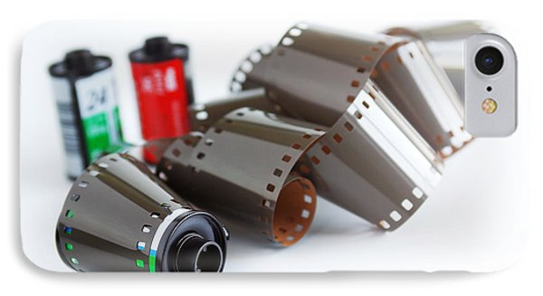 Film And Canisters Phone Case by Carlos Caetano
