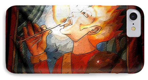 Fire Eater Phone Case by David Lee Thompson