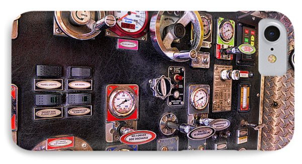 Fireman - Discharge Panel Phone Case by Paul Ward