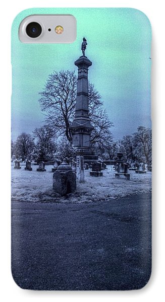 Firemans Monument Infrared Phone Case by Joshua House