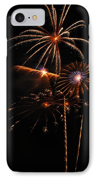 Fireworks 1580 Phone Case by Michael Peychich