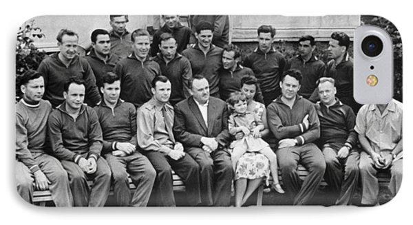 First Soviet Cosmonaut Squad, 1961 IPhone Case by Ria Novosti