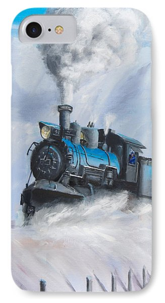 First Train Through IPhone 7 Case by Christopher Jenkins