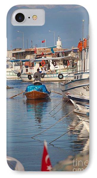 Fisherman At Yumurtalik Phone Case by Gabriela Insuratelu