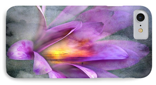 Flower Spirit Phone Case by Svetlana Sewell