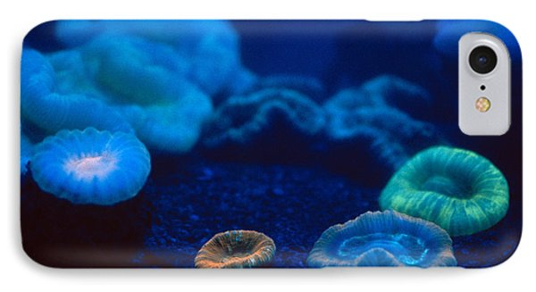 Fluorescent Corals Phone Case by Kjell B Sandved and Photo Researchers