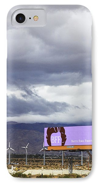Forever Palm Springs Phone Case by William Dey