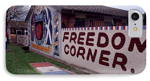 Freedom Corner Mural Phone Case by Thomas R Fletcher