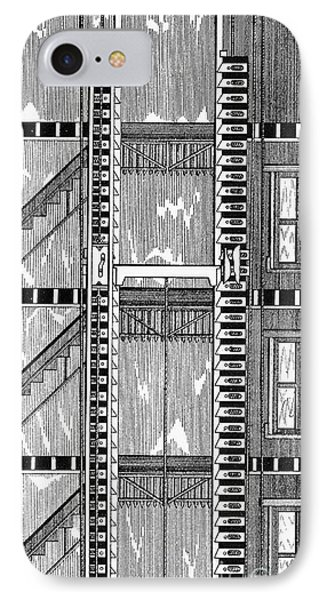 Freight Elevator, 1876 Phone Case by Granger