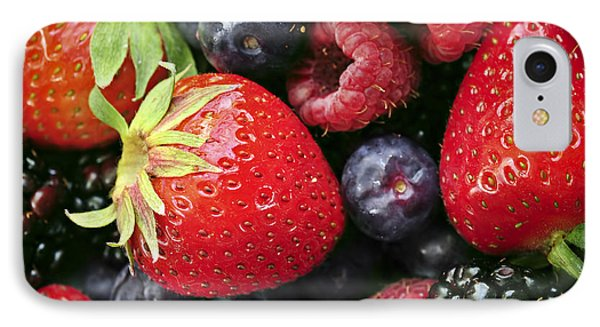 Fresh Berries IPhone 7 Case by Elena Elisseeva