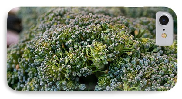 Fresh Broccoli Phone Case by Susan Herber