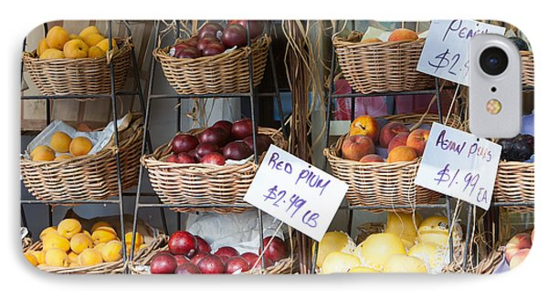 Fruit For Sale Phone Case by Clarence Holmes