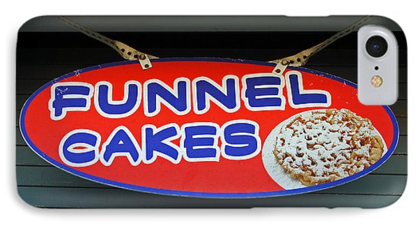 Funnel Cakes Phone Case by Skip Willits