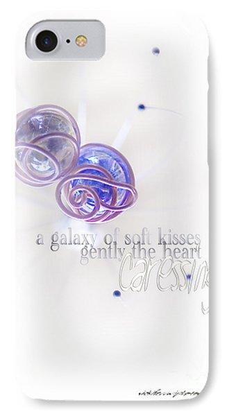 Galaxy Of Love Phone Case by Vicki Ferrari Photography