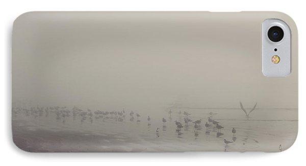 Galveston Island Foggy Morning IPhone Case by Svetlana Novikova