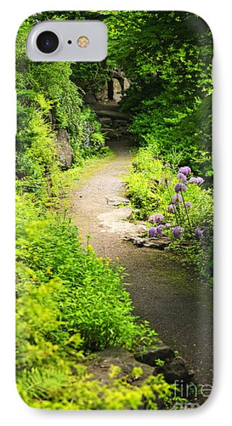 Garden Path Phone Case by Elena Elisseeva