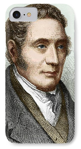 George Stephenson (1781-1848) IPhone Case by Sheila Terry