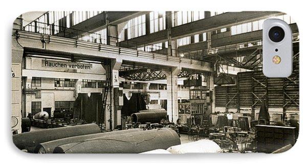 German Rocket Factory, 1943 Phone Case by Detlev Van Ravenswaay