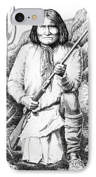 Geronimo Phone Case by Gordon Punt