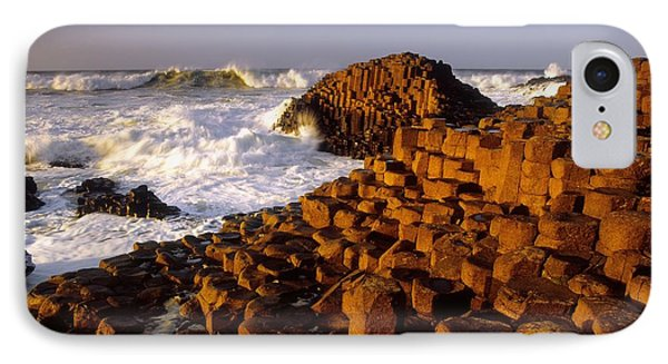 Giants Causeway, County Antrim, Ireland Phone Case by The Irish Image Collection