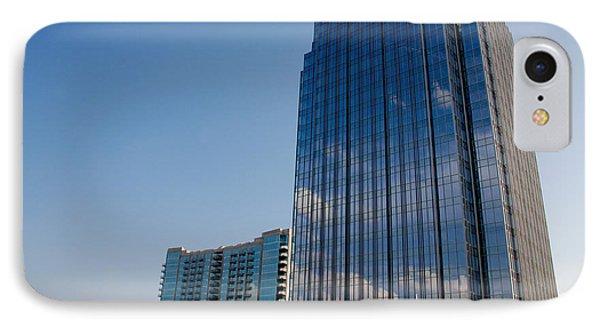 Glass Buildings Nashville Phone Case by Susanne Van Hulst