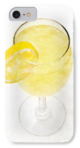 Glass Of Lemonade Phone Case by Andee Design