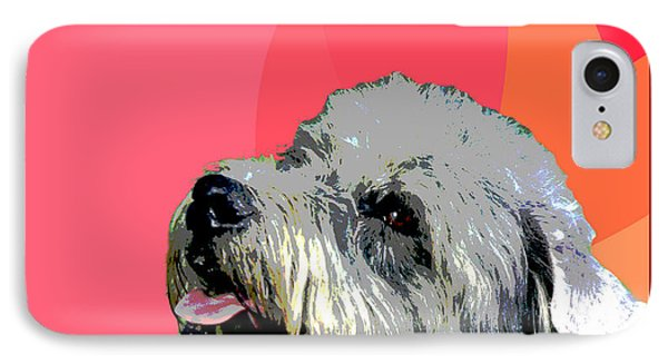 Glen Of Imaal Terrier Phone Case by One Rude Dawg Orcutt