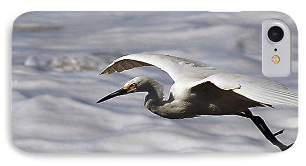 Gliding Egret Phone Case by Joe Schofield