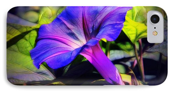 Glory Of The Morning Phone Case by Judi Bagwell