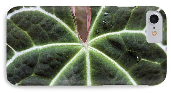 Glowing Leaf Phone Case by Rosalie Scanlon