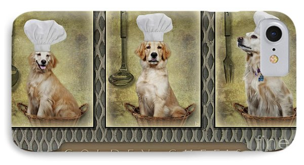 Golden Chef's IPhone Case by Susan Candelario