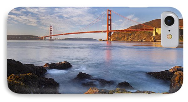 Golden Gate At Dawn IPhone Case by Brian Jannsen