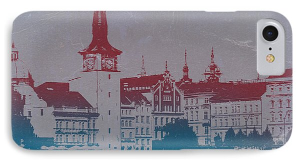 Golden Prague Phone Case by Naxart Studio