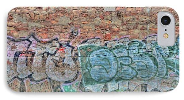 Graffiti Phone Case by Kathleen Struckle