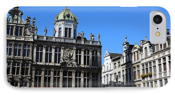 Grand Place Buildings Phone Case by Carol Groenen