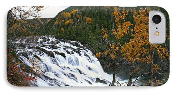 Grand-sault Falls On Madeleine River Phone Case by Yves Marcoux