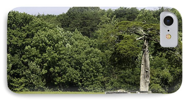 Grave Of Lafayette Meeks Appomattox Virginia Phone Case by Teresa Mucha