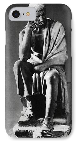 Greek Philosopher Phone Case by Photo Researchers