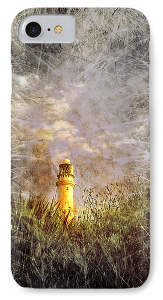 Grunge Light House Phone Case by Svetlana Sewell