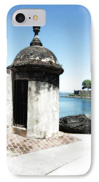 Guard Post Castillo San Felipe Del Morro San Juan Puerto Rico Diffuse Glow Phone Case by Shawn O'Brien