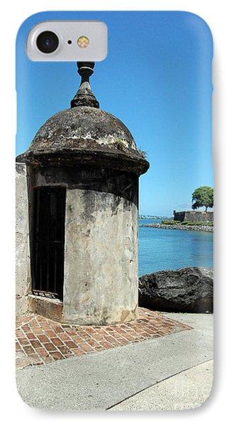 Guard Post Castillo San Felipe Del Morro San Juan Puerto Rico Phone Case by Shawn O'Brien