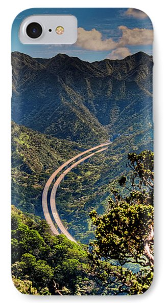 H-3 From The Aiea Loop Trail Phone Case by Dan McManus