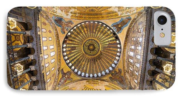 Hagia Sophia Ceiling Phone Case by Artur Bogacki