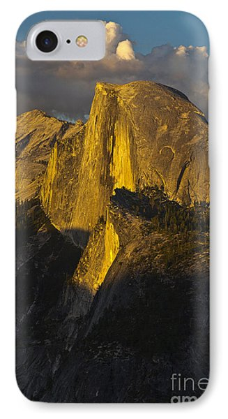 Half Dome At Sunset Phone Case by Rodney Cammauf