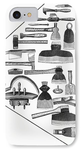 Hand Tools, 1876 Phone Case by Granger