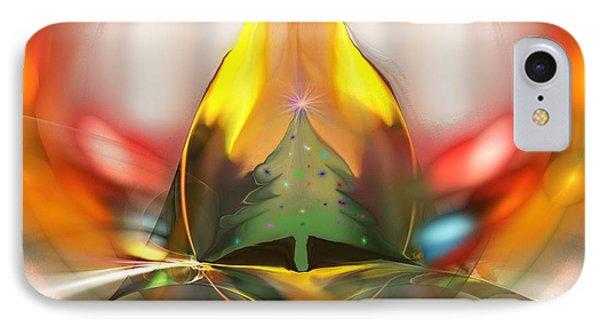 Happy Holidays 2012 Phone Case by David Lane