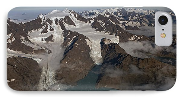 Harker And Hamberg Glacier IPhone Case by Ingo Arndt